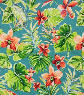 Solarium Outdoor Decor Fabric 54''-Beachcrest Lagoon