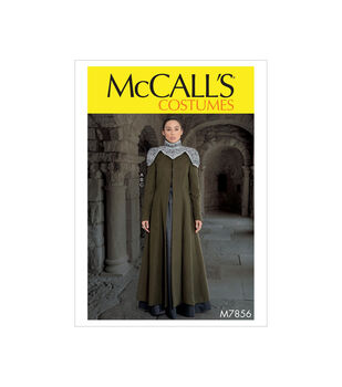 McCall's Pattern M7856 Misses' Costume-Size 6-8-10-12-14