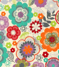 Snuggle Flannel Fabric -Paradise Floral