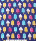 Blizzard Fleece Fabric 59\u0022-Popsicles And Ice Cream