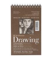 "Strathmore Drawing Medium Paper Pad 4""X6""-24 Sheets, , hi-res"