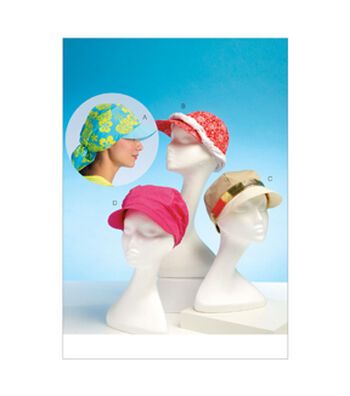 Kwik Sew Misses Headgear-K4107