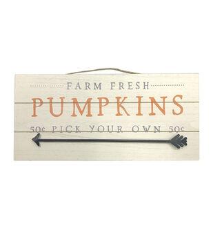 Simply Autumn Pallet Wall Decor-Farm Fresh Pumpkins Pick Your Own