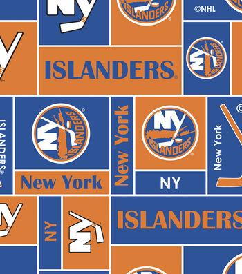 New York Islanders Fleece Fabric 60''-Block