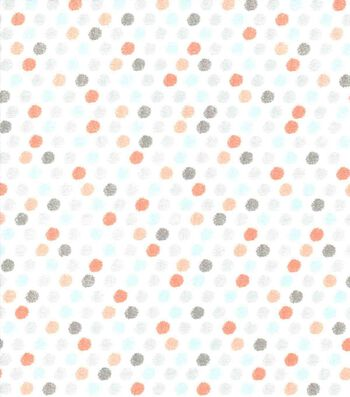 Nursery Cotton Fabric 43''-Woodland Mini Dots