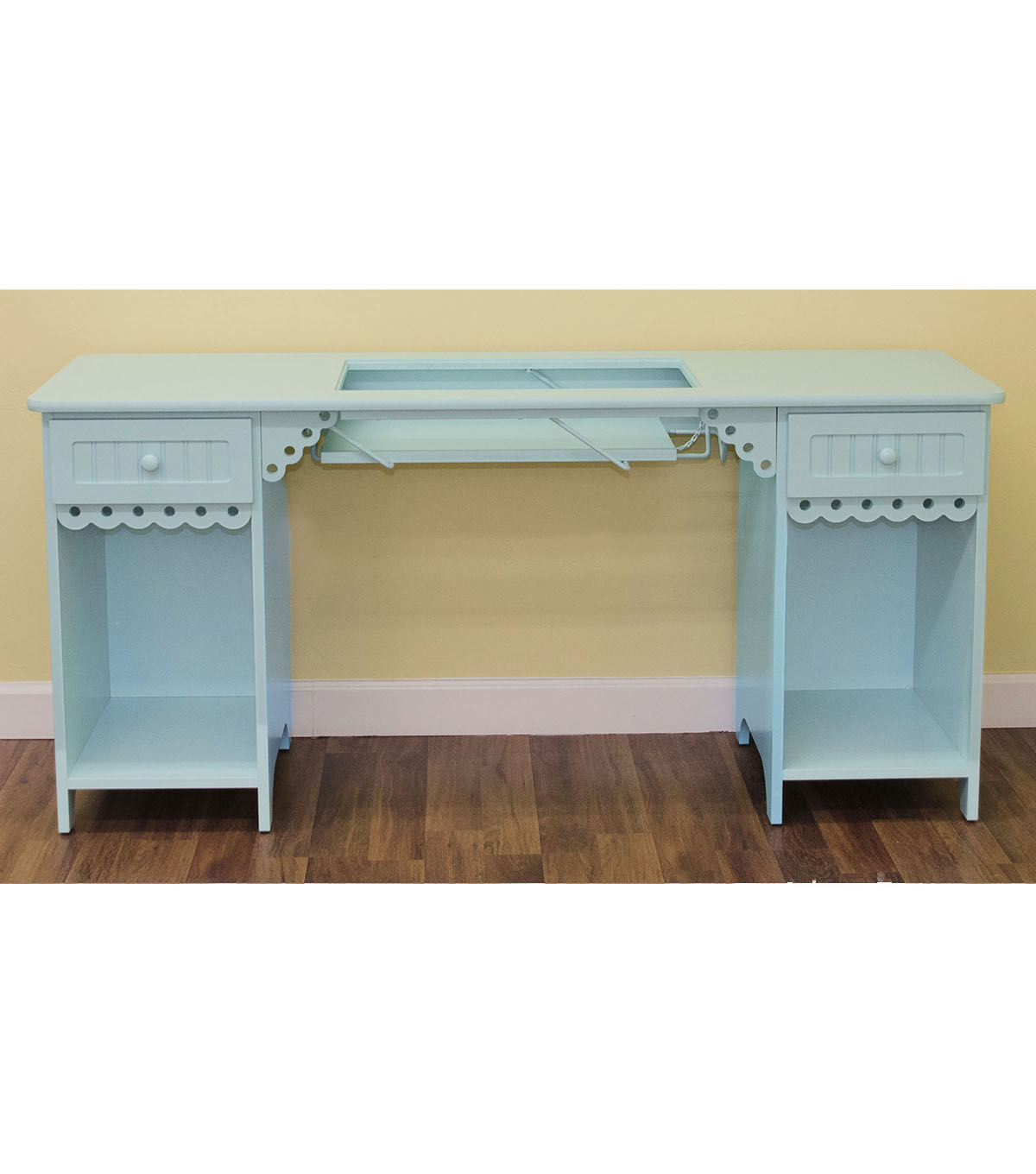 Arrow Olivia Sewing Table Blue
