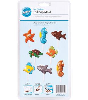 Wilton Candy Mold-Sea Creatures