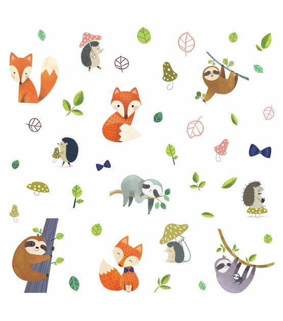York Wallcoverings Wall Decals Forest Friends Giant, , hi-res, image 2