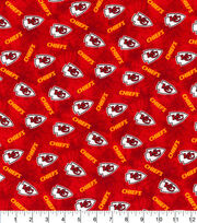 Kansas City Chiefs Flannel Fabric-Tie Dye, , hi-res