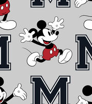 Disney Mickey Mouse Fleece Fabric-Toss, , hi-res