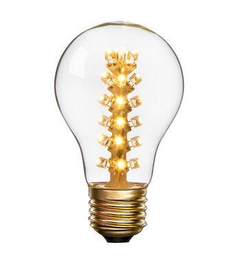 Hudson 43 Edison Bulb with 4-Column Interior LED Lights
