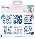 Sara Davies Signature Flutterby 6 pk Foil Transfers-Wild & Free
