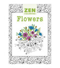 Adult Coloring Book-Guild of Master Craftsman Zen Coloring Flowers