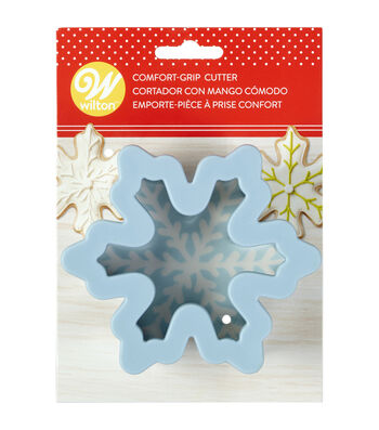 Wilton Large Snowflake Comfort-Grip Cookie Cutter
