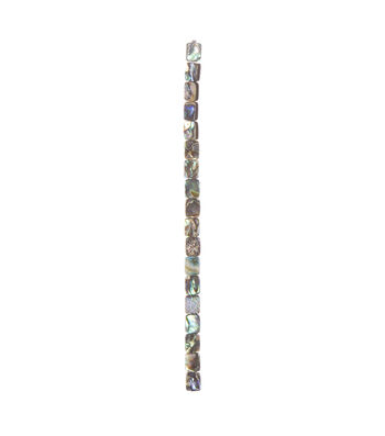 Abalone Rectangular Beads, Small, 7-inch Strand