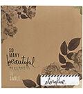 Heidi Swapp Storyline2 D-Ring Album 8.5\u0022X11\u0022-Floral