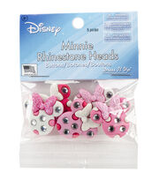 Jesse James Beads Dress It Up 5 pk Disney Minnie Rhinestone Heads, , hi-res
