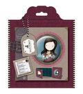 Santoro Gorjuss 6\u0027\u0027x6\u0027\u0027 Framed Decoupage Card Kit-Tweed