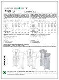 Vogue Patterns Misses Dress-V8813
