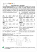 Mccall Pattern V1325 14-16-18-2-Vogue Pattern