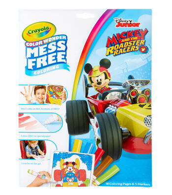 Crayola Color Wonder Coloring Pad & Markers-Mickey Mouse Clubhouse