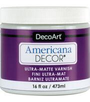 Americana Decor 16 fl. oz. Ultra Matte Varnish, , hi-res