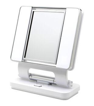 OttLite 26W Dual Sided Makeup Mirror-White