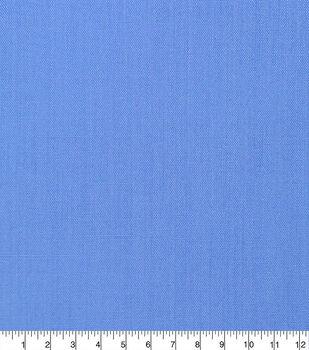 Specialty Cotton Poly/Cotton Blend Fabric-Powder Blue Daphne