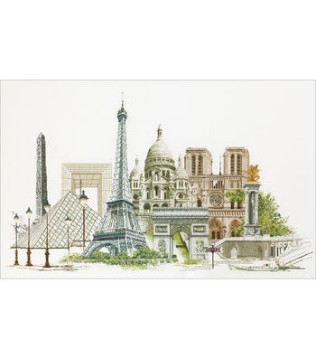 Thea Gouverneur Paris On Aida Counted Cross Stitch Kit