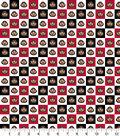 Ohio State University Buckeyes Cotton Fabric 42\u0022-Collegiate Check