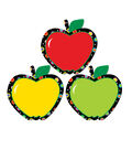 Apples Poppin Patterns Cut Outs 36/pk, Set of 4 Packs