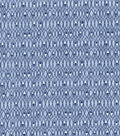 Premium Prints Cotton Fabric 43\u0022-Diamonds on Blue