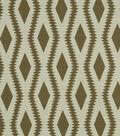 Home Decor 8\u0022x8\u0022 Fabric Swatch-Robert Allen Frontier Ogee Taupe