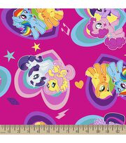 Hasbro My Little Pony Print Fabric-Pony Hearts, , hi-res