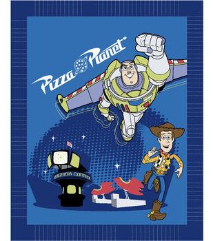 Disney Toy Story No Sew Fleece Throw-Pizza Planet