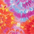 Anti-Pill Plush Fleece Fabric-Classic Tie Dye
