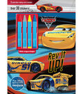 Parragon Cars 3 Rev It Up! Activity Book