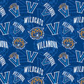Villanova University Wildcats Cotton Fabric-Logos