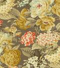 Waverly Multi-Purpose Decor Fabric 54\u0022-Floral Flourish Clay