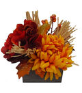 Blooming Autumn 7\u0027\u0027 Mum & Berry Arrangement