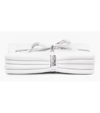 Kona Pre-Cut Fabric Bundle-White