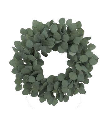 Bloom Room Eucalyptus Wreath-Green