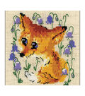 RIOLIS 5\u0027\u0027x5\u0027\u0027 14-count Counted Cross Stitch Kit-Little Fox
