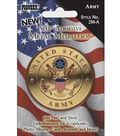 Pioneer Military Medallion Embellishments-Army