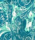 Keepsake Calico Cotton Fabric 44\u0022-Medina Aqua