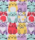 Blizzard Fleece -Cool Happy Cats