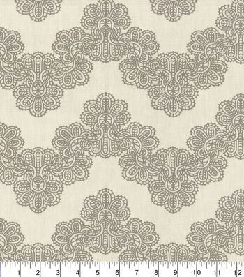 "Home Essentials Paris Lightweight Decor Fabric 45""-Airwaves Gray"