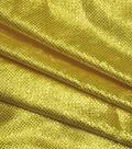 Glitterbug Panne Velvet Fabric -Yellow Foil