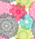Anti-Pill Fleece Fabric 59\u0022-Spring Medallions