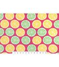 Snuggle Flannel Fabric -Lemons & Limes